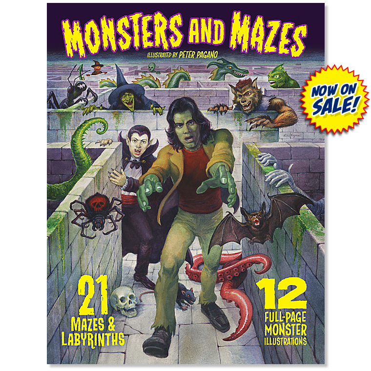 Monsters and               Mazes Image